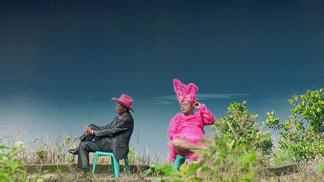 Two characters from The Act of Killing